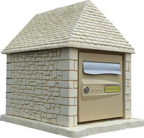 maisolettre pierre et toit en lauzes