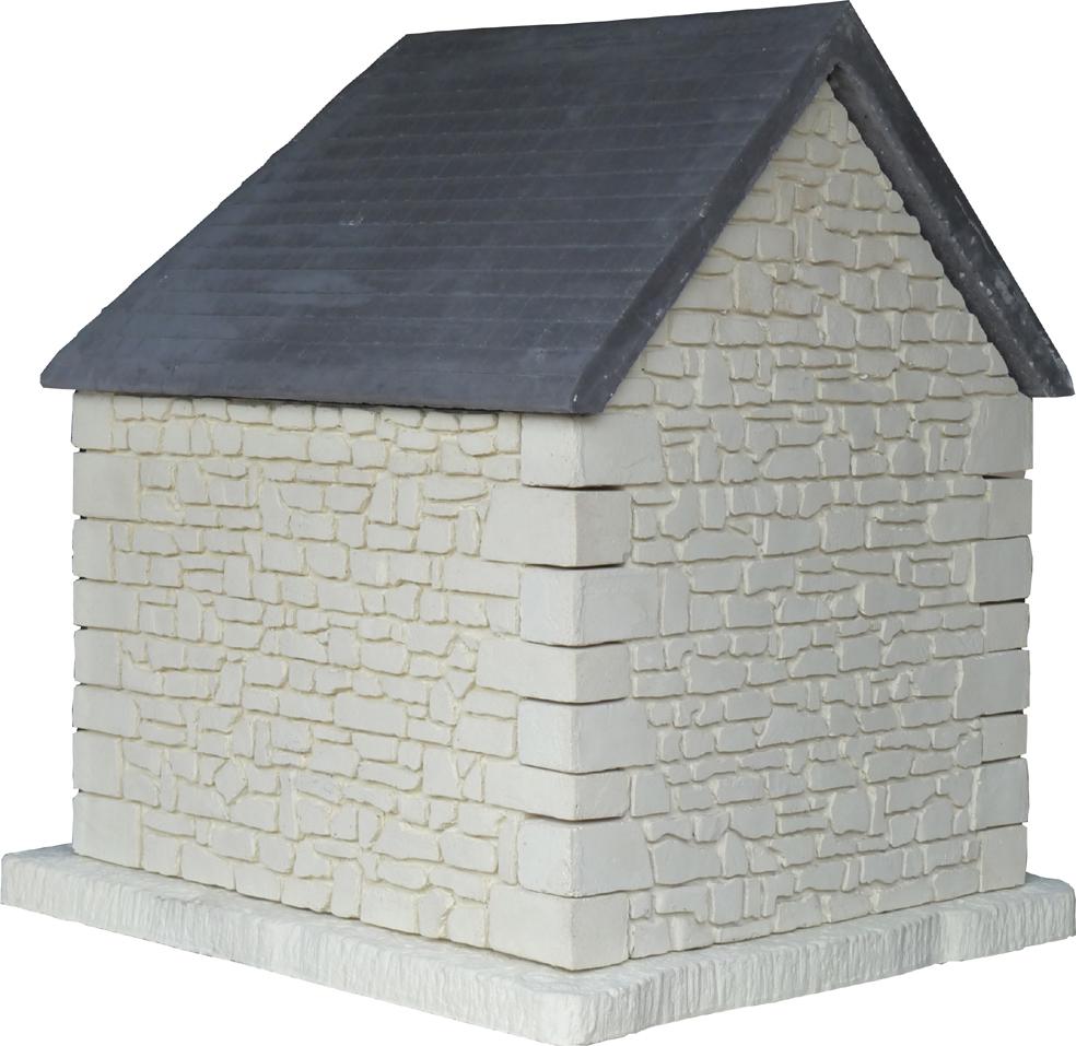pignon pierre et toit ard
